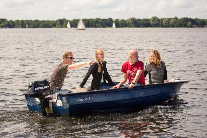 Motorboot 4 pers. a